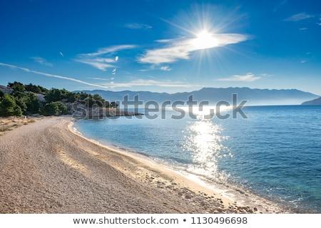 Photo stock: Sauvage · belle · nature · mer · Croatie · eau