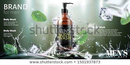 Prysznic żel butelki ciało włosy piękna Zdjęcia stock © ozaiachin