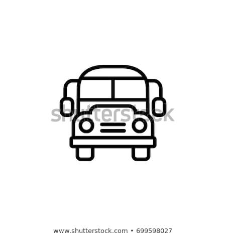 vector · Rood · auto · bagage · geïsoleerd · witte - stockfoto © rastudio