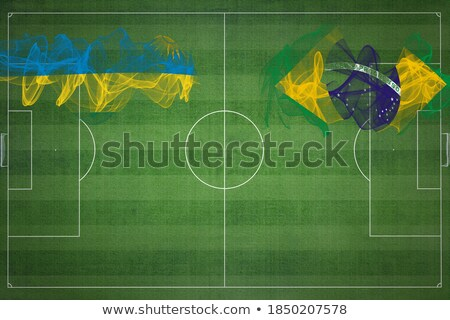 Brazil and Rwanda Flags  Stock photo © Istanbul2009