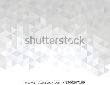 soyut · üçgen · yarım · ton · modern · korkak - stok fotoğraf © gladiolus