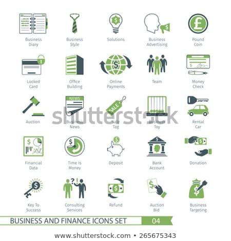 commerce set 04 stock photo © genestro