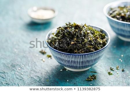 wodorost · szczegół · świeże · zielone · kamienie - zdjęcia stock © unikpix