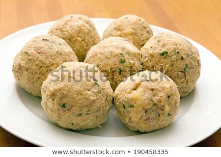 German bread dumplings Stock photo © Digifoodstock