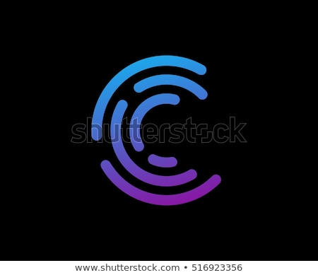 c letter logo template vector icon design stock photo © ggs