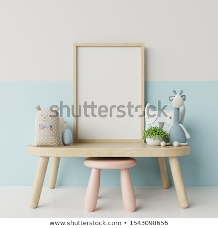 a frame with a girl stock photo © bluering