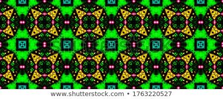 Beautiful gorgeous old grunge carpet background Stock photo © zurijeta