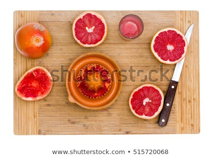 Ruby rosso pompelmo sharp coltello Foto d'archivio © ozgur