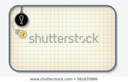 colorful frame for your text Stock photo © SArts