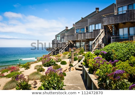 Two Beachfront Homes Stock photo © iofoto