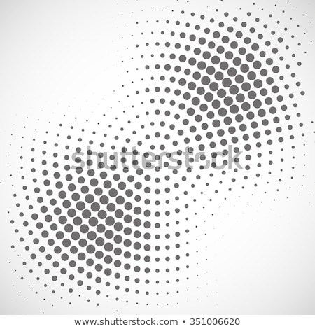 radial halftone dots vector background Stock photo © SArts