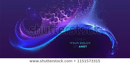 Absztrakt áramlás energia modern technológia terv Stock fotó © zven0