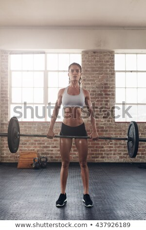 Portrait femme crossfit noir Photo stock © wavebreak_media