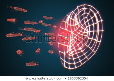 Otitis Diagnosis. Medical Concept. 3D. Stock photo © tashatuvango