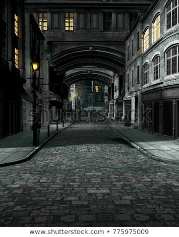 Cobbled street Stock photo © FreeProd