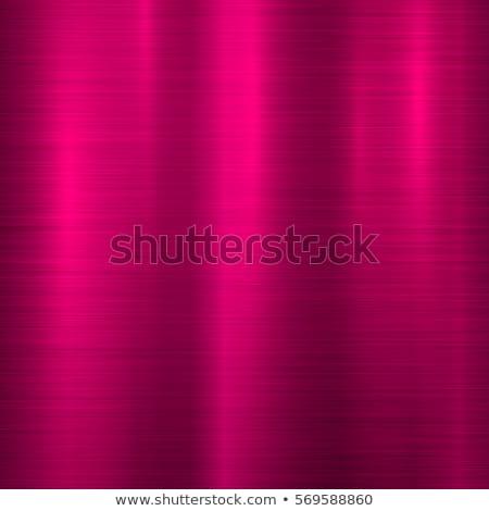 Magenta metal tecnología resumen pulido textura Foto stock © molaruso