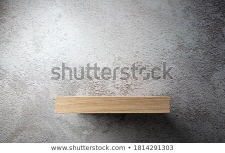 Powierzchnia deska półka książek drewna Zdjęcia stock © wavebreak_media