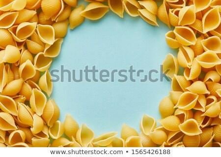 veelkleurig · spiraal · pasta · geïsoleerd · Blauw · patroon - stockfoto © artjazz
