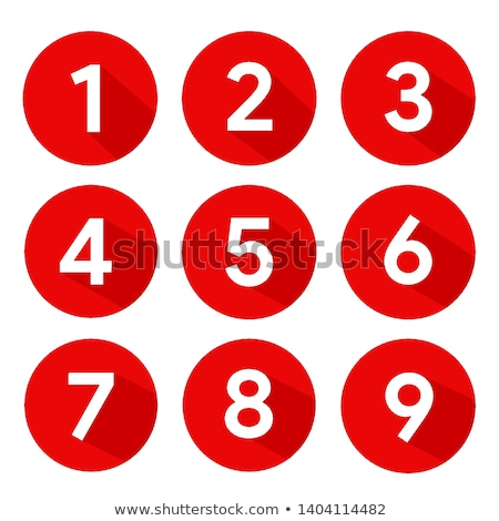 four vector buttons with numbers stock photo © blumer1979