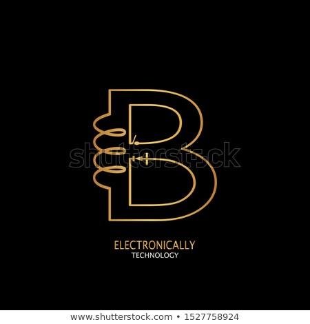 Proste elektryczne obwodu linie wektora elektronicznej Zdjęcia stock © kyryloff