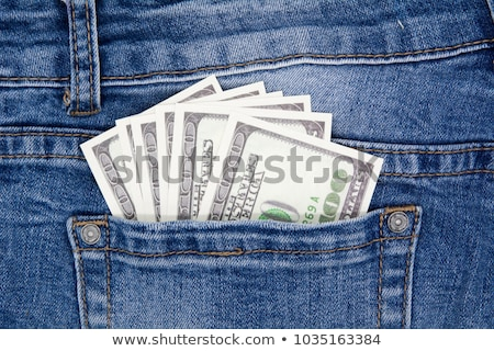 Blue jean and dollars Stock photo © devon