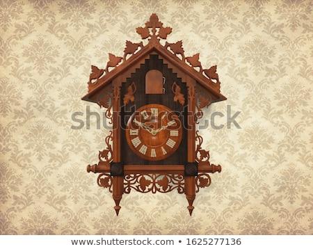 Traditioneel houten koekoek klok Stockfoto © djmilic