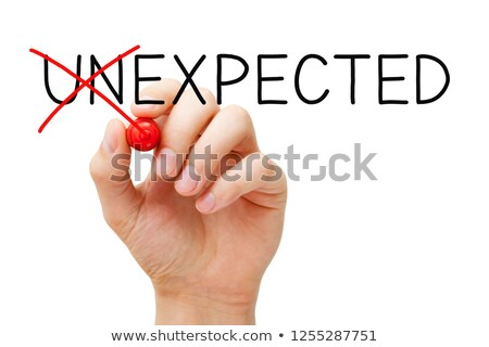 Expect The Unexpected Concept Stock photo © ivelin