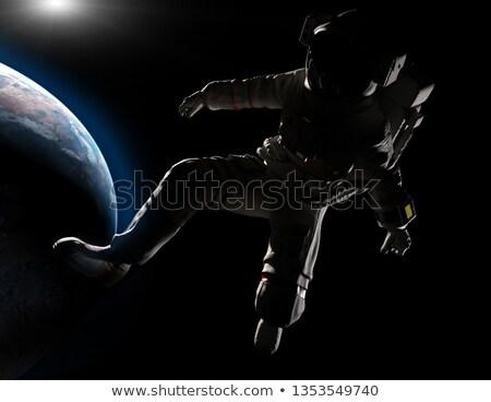 失わ スペース 遠征 旅人 ロケット ベクトル ストックフォト © vector1st