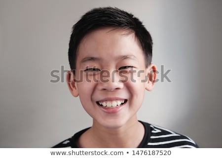 Pre teen boy at school Stock photo © Lopolo