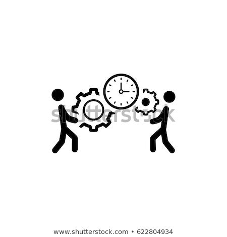 プロジェクト 管理 アプリケーション 分析 パフォーマンス スマートフォン ストックフォト © cifotart
