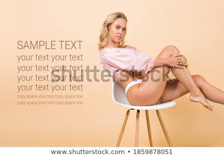 belleza · natural · estudio · moda - foto stock © studiolucky