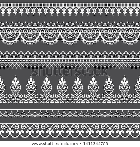 フランス語 シームレス レース ベクトル パターン 飾り ストックフォト © RedKoala