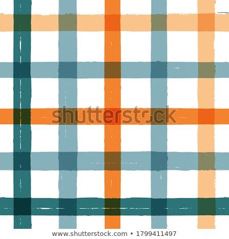 Tartan color seamless vector pattern Stock photo © barsrsind