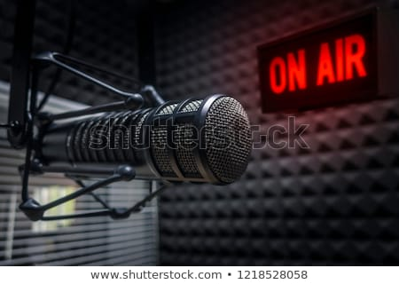 Radio Station, On Air Sign Stock photo © olivier_le_moal