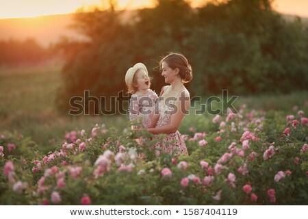 美しい 小さな 母親 バラ エンドレス ストックフォト © ElenaBatkova
