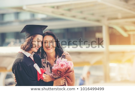 mother and daughter celebrating graduation stock photo © nruboc