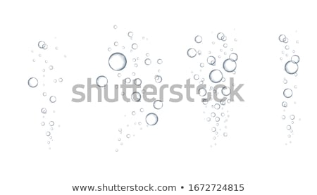 Bubbels doorzichtigheid water achtergrond drinken Stockfoto © IMaster