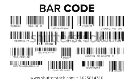 Set of  labels with bar codes Stock photo © orson