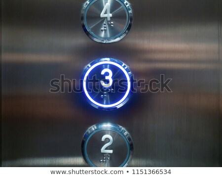 три закрыто бизнеса лобби двери отель Сток-фото © creisinger