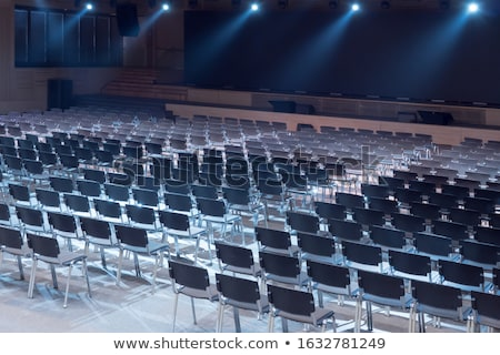 empty conference hall stock photo © ivicans