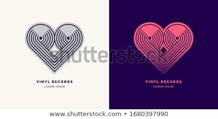 Vinyl geluid draaitafel schrijfstift spelen Stockfoto © Stocksnapper