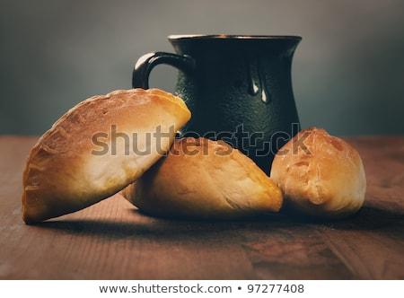 ev · tatlı · kek · reçel · kahvaltı - stok fotoğraf © fanfo