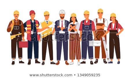 A tradeswoman and an engineer working together Stock photo © photography33