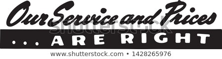 Foto stock: Servicios · anuncio · falso · periódico · fondos