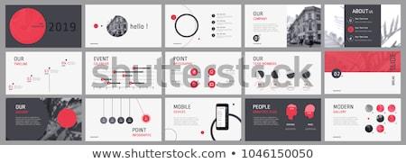 бумаги · лице · диаграммы · бизнеса - Сток-фото © devon