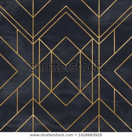 アールデコ 幾何学的な 1920 タイル することができます ストックフォト © karolinal