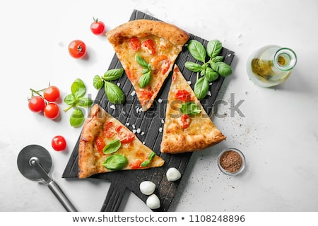 cutter for pizza on a white background Stock photo © shutswis
