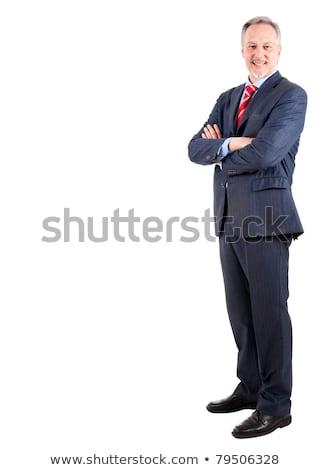 full length studio portrait of an older businessman stock photo © photography33