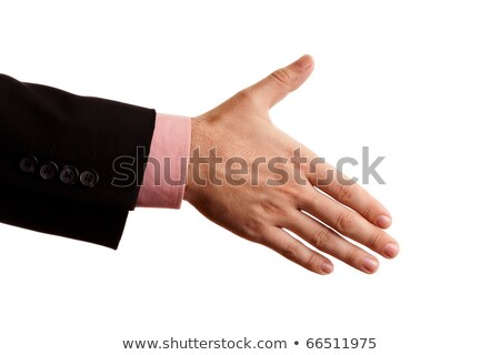 Hand a business person who is willing to make a deal Stock photo © shutswis