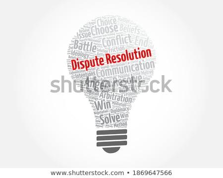 Bulb Dispute Stock photo © blamb